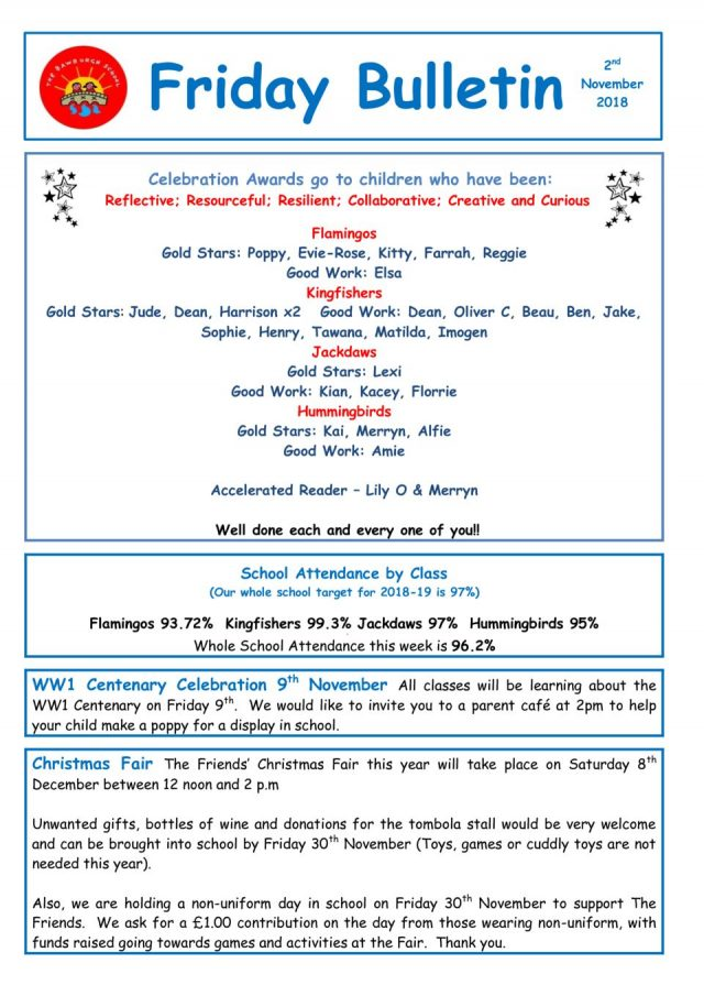 thumbnail of Friday Bulletin 02.11.18