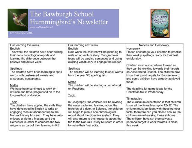 thumbnail of News letter Nov 30th