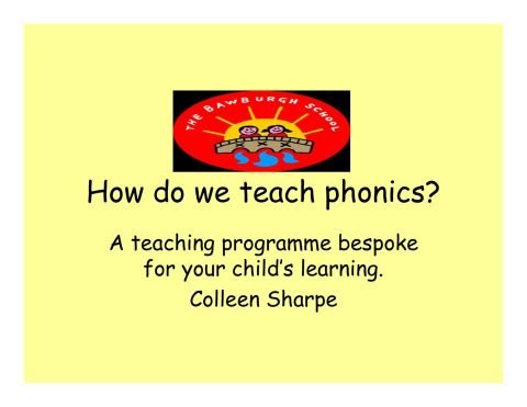 thumbnail of Phonics Powerpoint 2018 Parents Workshop
