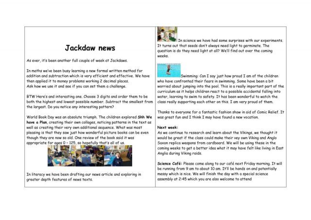 thumbnail of Jackdaw – news WK 16