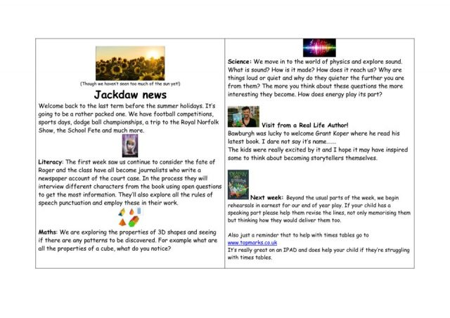 thumbnail of Jackdaw – news WK 22